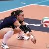 Coppa Italia A1 2011/12 - Quarti di FinaleMC Carnaghi Villa Cortese - Rebecchi Nordmeccanica PiacenzaPalaborsani, Castellanza (VA) - 24 Gen 2012-Ricezione di Nicole Davis