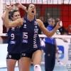 Coppa Italia A1 2011/12 - Quarti di FinaleMC Carnaghi Villa Cortese - Rebecchi Nordmeccanica PiacenzaPalaborsani, Castellanza (VA) - 24 Gen 2012-Esultanza di Makare Wilson