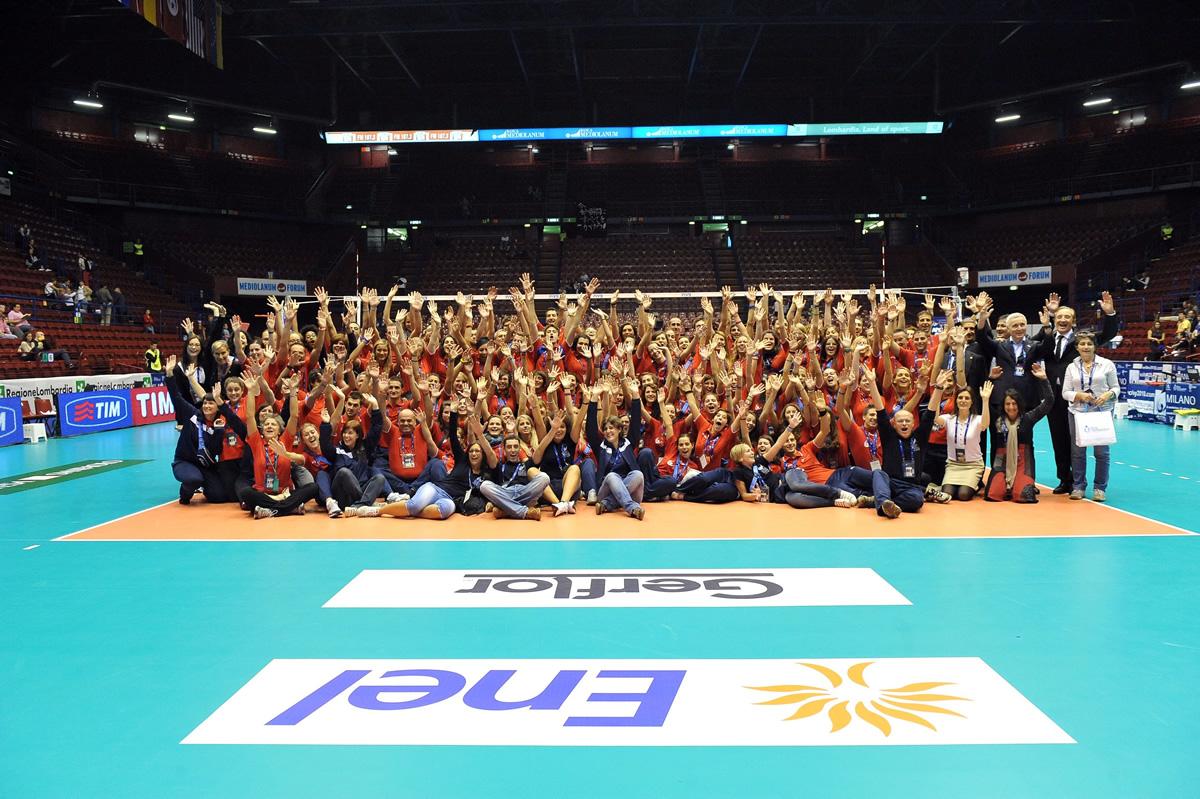 Milano saluta i mondiali di pallavolo maschile vivovolley for Assago beach forum