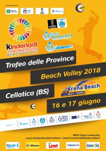 locandina TdP Beach Volley 2018