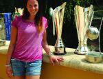 Eleonora Lo Bianco Ospite all' European Volleyball Gala a Vienna